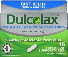 Dulcolax Suppository - 16