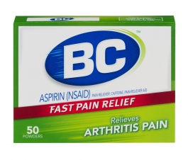 BC Aspirin Fast Pain Relief Arthritis Powders - 50 CT