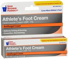GNP Clotrimazole 1 % Anti-Fungal Cream 0.5 oz