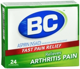 BC Aspirin Fast Pain Relief Arthritis Powders - 24 CT
