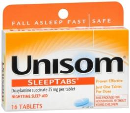 Unisom Nighttime Sleep-Aid Tablets - 16ct