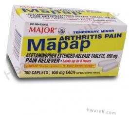 Mapap Arthritis Pain - 100 Caplets