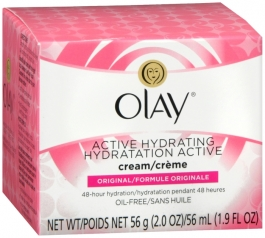 Olay Active Hydrating Cream Original 2 oz