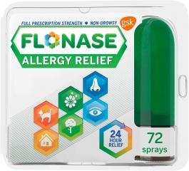 Flonase Allergy 24HR 72 Sprays -  0.38oz (OTC)