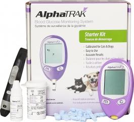 AlphaTrak 2 Blood Glucose Monitoring System Starter Kit for Pets