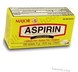Aspirin 5GR EC - 100 Tablets