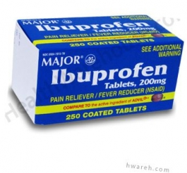 Ibuprofen 200mg - 250 Tablets