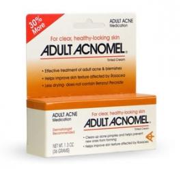 Acnomel Adult Acne Medication Cream - 1oz
