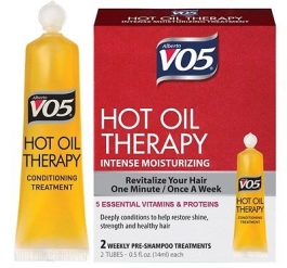 Alberto VO5 Hot Oil Weekly Intense Conditioning Treatment - 2ct