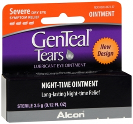 Genteal Pm Lubricant Eye Ointment 3.5 Gram