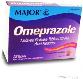Omeprazole 20mg Delayed Release - 28 Tablets