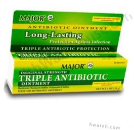 Triple Antibiotic Ointment (Regular Strength) - 1 oz.