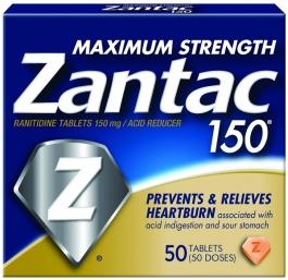 Zantac 150 Maximum Strength Tablets - 50ct