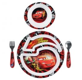 The First Years Disney/Pixar Cars 2 4-Piece Feeding Set