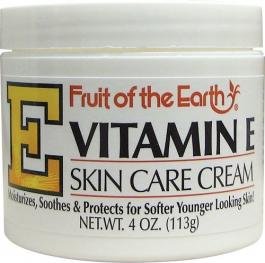 Fruit of the Earth Vitamin E Skin Care Cream - 4oz Jar