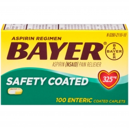 Bayer Regular Strength Aspirin Regimen Caplets 325 mg 100ct
