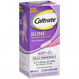Caltrate - 600+D Plus Minerals Tablets 60ct