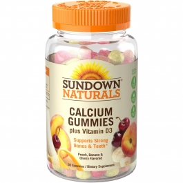Sundown Natural Calcium Plus Vitamin D3 Gummies 50ct