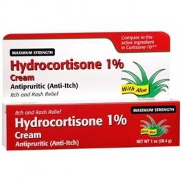 Hydrocortisone 1 % Maximum Strength Anti-Itch Cream, 1oz