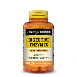 Mason Natural Digestive Enzymes Dietary Supplement Tablets 90ct