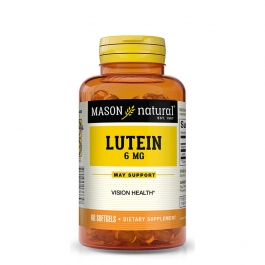 Mason Vitamins Natural Lutein 6 mg Softgels 60ct