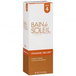 Bain de Soleil Orange Gelee Sunscreen, SPF 4, 3.12 oz