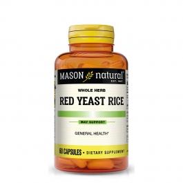 Mason Natural Red Yeast Rice 1200, Capsules, 60 ct