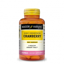 Mason Natural Highly Concentrated Cranberry Capsules 60ct