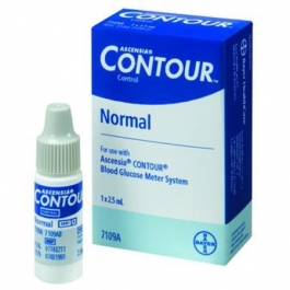 Ascensia Contour Control Low Solution 2.5ml