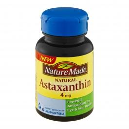 Nature Made Astaxanthin 4mg, Softgel, 60ct