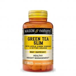 Mason Natural Green Tea Slim, Tablets, 60ct