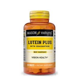Mason Natural Lutein Plus with Zeaxanthin for Eye Health Tablets, 60 Count