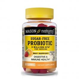 Mason Natural - Probiotic Sugar Free Gummies Orange Strawberry - 60 Gummies