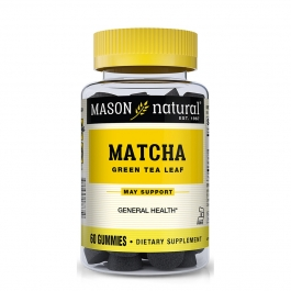 Mason Natural Matcha Green Tea Gummy- 60ct