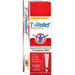 T-Relief Joint, Muscle & Back Pain Relief Ointment, 4 oz