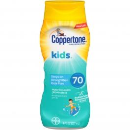 Coppertone Kids Sunscreen Lotion, SPF 70, 8 fl oz
