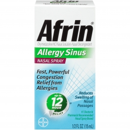 Afrin Allergy Sinus Nasal Spray, 15ml