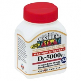 Vitamin D 5000 IU - 110 Tablets