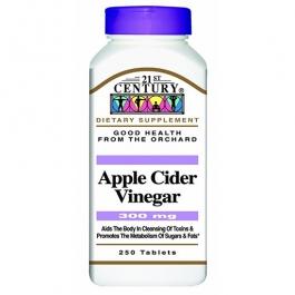 21st Century Apple Cider Vinegar 300mg Tablets - 250ct