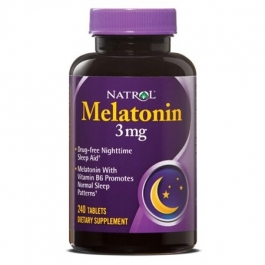 Natrol Melatonin 3mg Tablets, 240ct