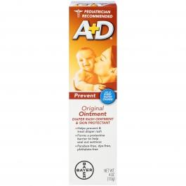 A+D Original Diaper Rash Ointment - 4 oz.