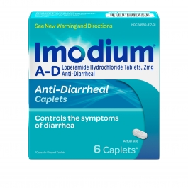 Imodium A-D Anti-Diarrheal, 6 count