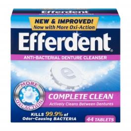 Efferdent Original Tablet - 44ct