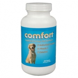 Comfort Antioxidant Formula Supplement for Dogs and Cats, 350 Tablets