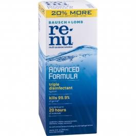 Renu Advanced Formula Contact Lens Solution 12 oz