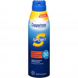 Coppertone® Sport Broad Spectrum SPF 30 Sunscreen Spray 5.5 oz.