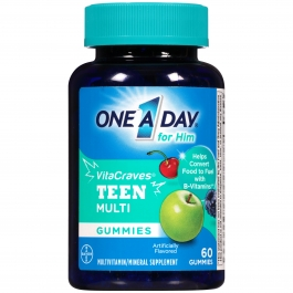 One A Day VitaCraves Teen for Him Multivitamin Gummies 60ct