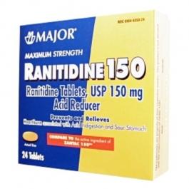 Ranitidine 150mg - 24 Tablets