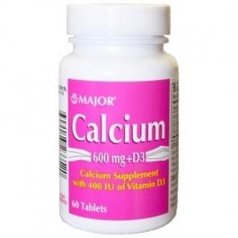 Major Calcium Carbonate 600mg with Vitamin D400IU