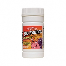21st Century Zoo Friends Complete 60 Tablets